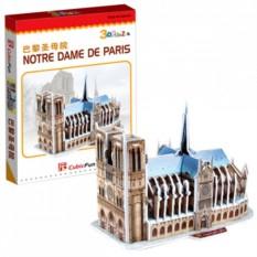 3D пазлы Cubic Fun Нотрдам де Пари (Франция)