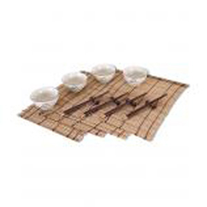 Набор для риса «Бежевые чаши»