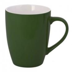 Зеленая кружка Good morning