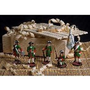 Набор оловянных солдатиков Петр 1