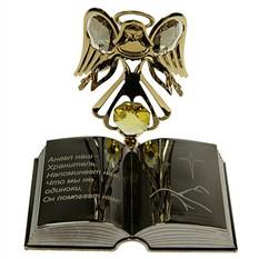 Фигурка декоративная Swarovski Ангел с книгой