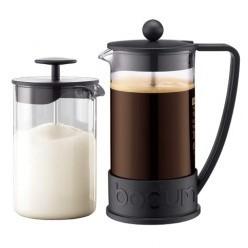 Набор — кофейник и взбиватель сливок BODUM Brazil