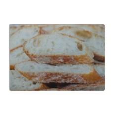 Стеклянная разделочная доска Хлеб
