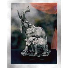 Статуэтка Слоны (серебро)