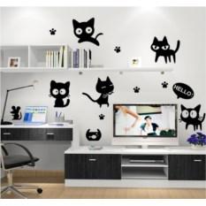 Виниловый стикер Милые котята