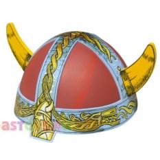 Детский карнавальный шлем викинга