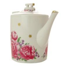 Фарфоровый заварочный чайник Первое свидание