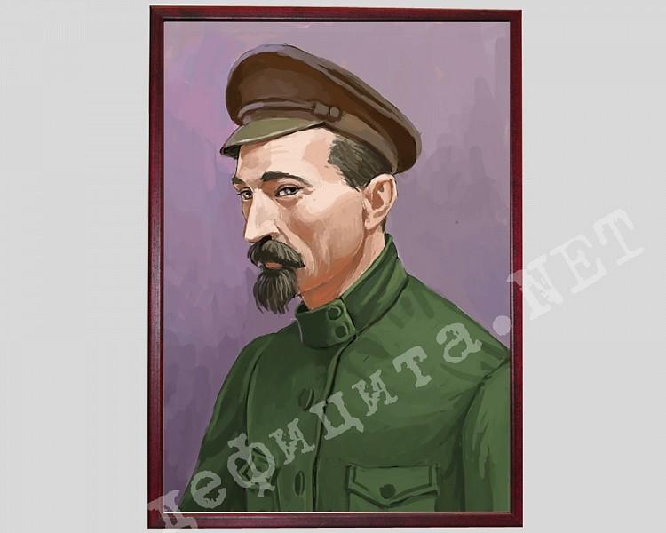 Плакат в рамке под стеклом «Феликс Эдмундович Дзержинский»