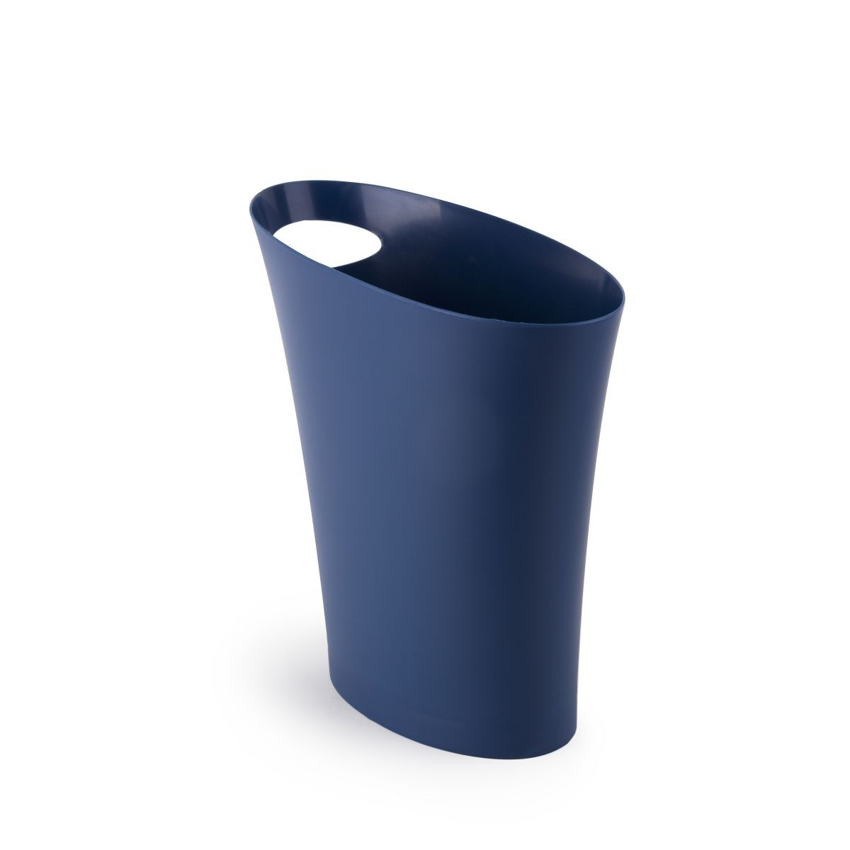 Контейнер для мусора Skinny цвета индиго