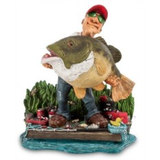 Статуэтка Рыбак. Большая удача от W.Stratford