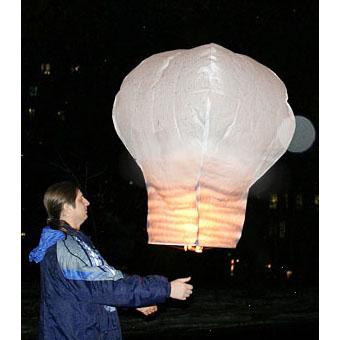 Небесный фонарик «Лампочка»