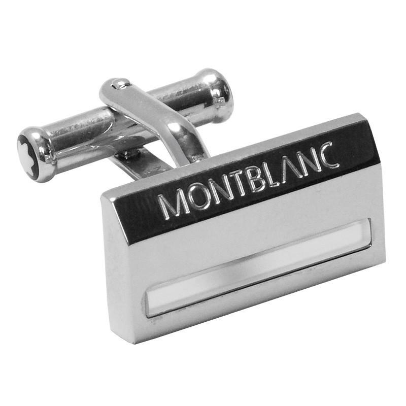 Запонки Montblanc SILVER