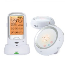 Цифровая радионяня Ramili baby с двумя детскими блоками