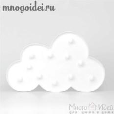 Светодиодный декоративный ночник Облако