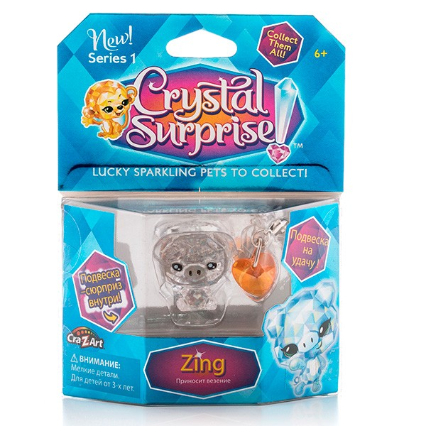 Фигурка - украшение Crystal Surprise