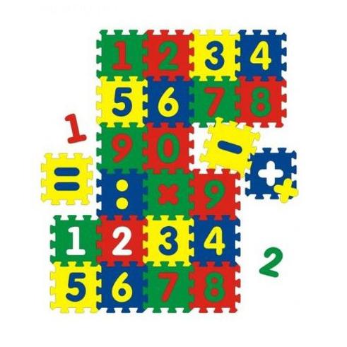 Коврик «Веселые цифры»