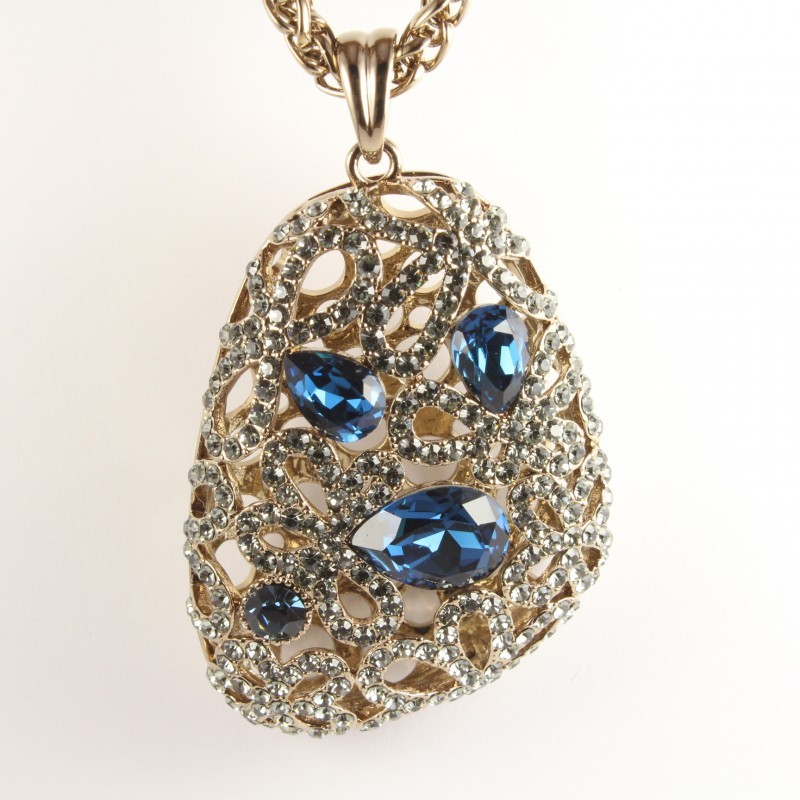 Кулон с кристаллами Сваровски «Фамильные ценности»
