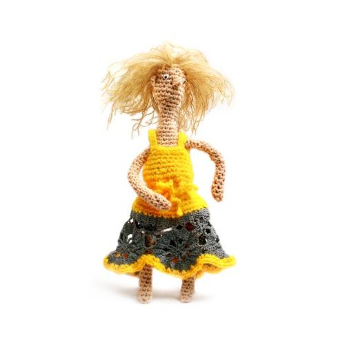 Кукла Матильда. Вязаная кукла
