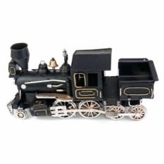 Ретро-модель Чёрный паровоз