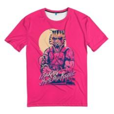 Мужская 3D-футболка Hotline Miami