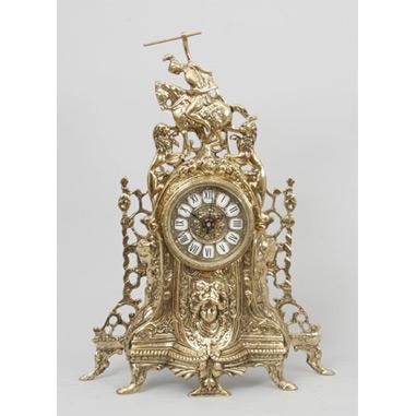 Часы из бронзы «Всадник»