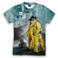Мужская футболка 3D с полной запечаткой Breaking bad