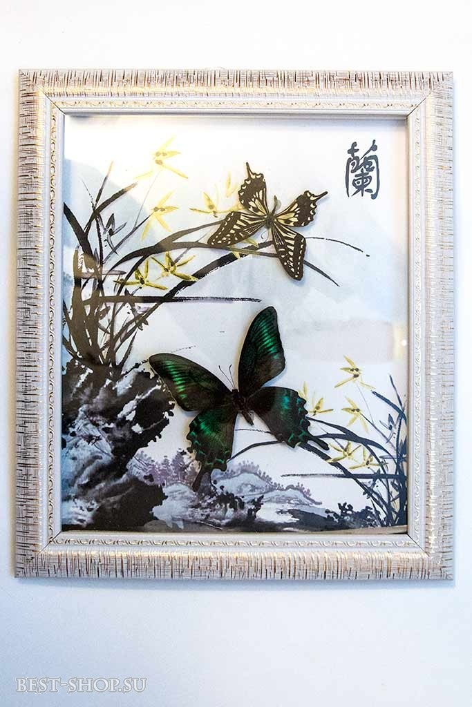 Настенное панно Бабочки