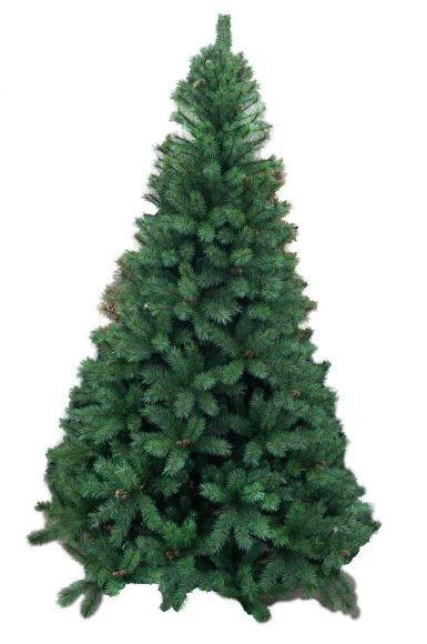 Ель Рождественская, с шишками, 225 см