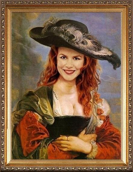 Шикарный портрет жене