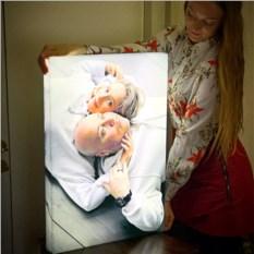Фото-светильник с семейной фотографией на заказ