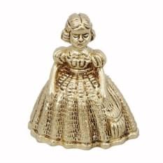Колокольчик из бронзы Дама