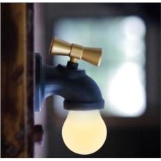 Usb ночник с активацией голосом Кран с водой