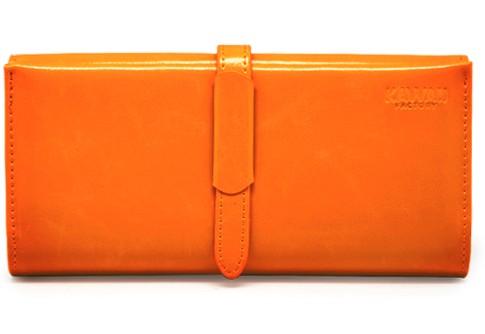 Оранжевый кошелек Lady