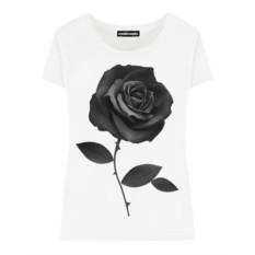Женская футболка Black Rose