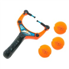 Игровой набор Рогатка с тремя мягкими шариками