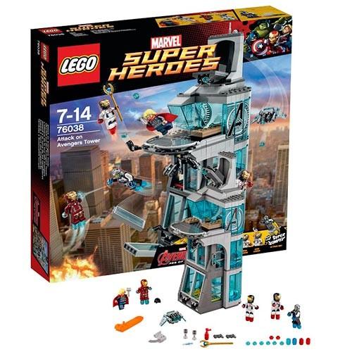 Конструктор - LEGO Super Heroes Башня Мстителей™