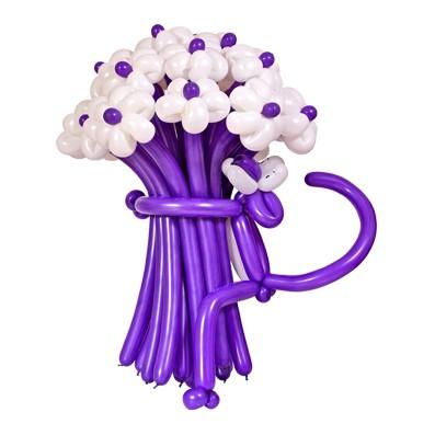 Ромашки фиолетовые c пантерой
