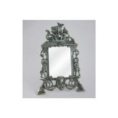 Бронзовое настольное зеркало Ладья