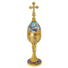 Яйцо-шкатулка Золотой купол