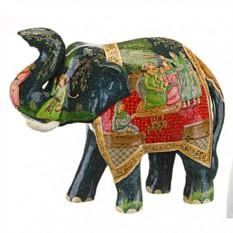 Фигурка Индийский чёрный слон Gemini Enterprises