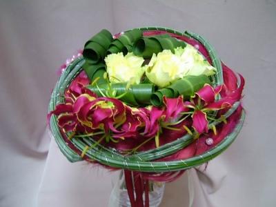 Букет из цветов №344