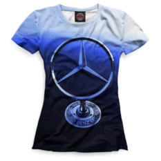 Женская футболка Print Bar Mercedes-Benz