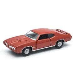 Модель винтажной машины Welly1:34-39 Pontiac GTO