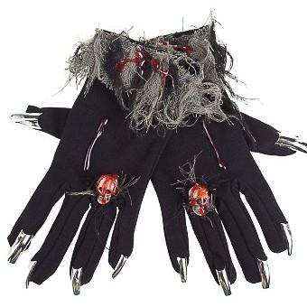 Маскарадные перчатки для взрослых Леди
