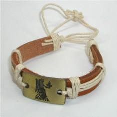 Кожаный браслет Дева