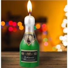 Новогодняя свеча «Шампанское»