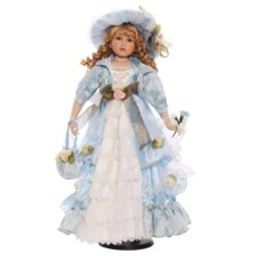 Фарфоровая кукла Оленька