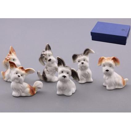 Фарфововые фигурки «Собаки»