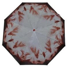 Терракотовый женский зонт Ferre Milano