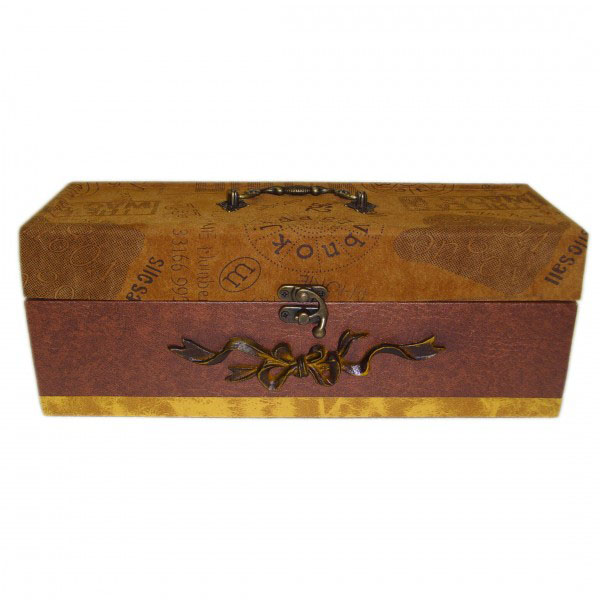 Деревянная шкатулка «Бархатная»